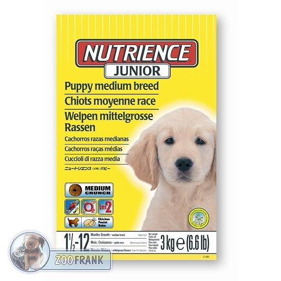 nutrience junior welpen hundefutter hundefutter trockenfutter hundefutter art nr d7007. Black Bedroom Furniture Sets. Home Design Ideas