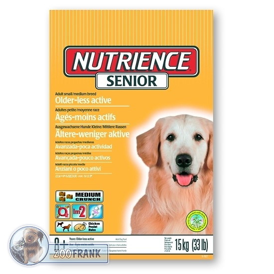 nutrience senior hundefutter hundefutter trockenfutter. Black Bedroom Furniture Sets. Home Design Ideas
