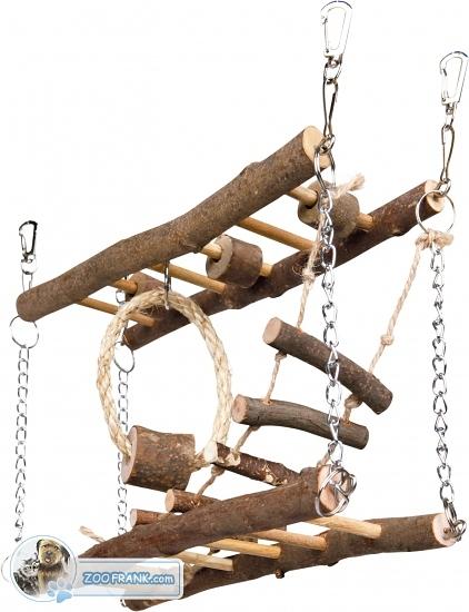 Hängebrücke für hamster mäuse spielzeug spieltürme
