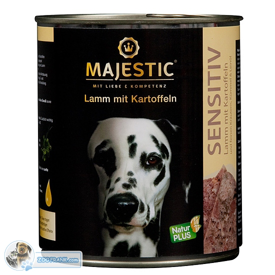 majestic gourmet mit lamm und reis majestic hundefutter. Black Bedroom Furniture Sets. Home Design Ideas