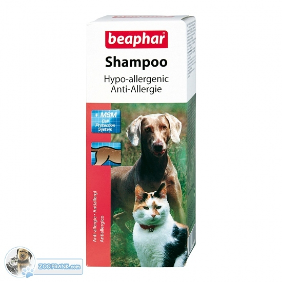 anti allergie shampoo f r katzen alles f r das tier hunde katzen nager art nr 15290k. Black Bedroom Furniture Sets. Home Design Ideas