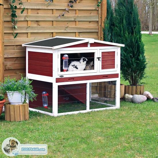 Hasenstall mit freigehege k fige hasenst lle kaninchenst lle art nr 62325 - Kaninchenstall einrichten ...