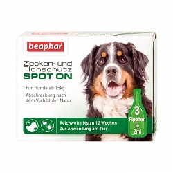 Beaphar Zecken- und Flohschutz SPOT-ON