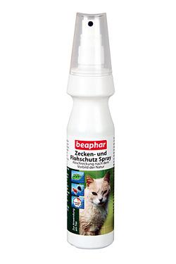 Zecken- und Flohschutz Spray für Katzen