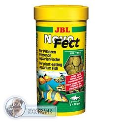 JBL Novo Fect - Futtertabletten für pflanzenfressende Fische