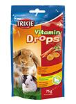 Vitamin-Drops für Nager mit Karotte