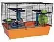 Hamsterkäfig Mäusekafig orange