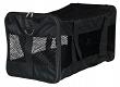 Hunde Transporttasche Nylon schwarz