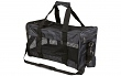 Katzen Transporttasche Nylon schwarz