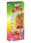 Knabberstangen für Hamster mit Obst - 2 Stück