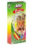 Knabberstangen für Hamster mit Gemüse - 2 Stück