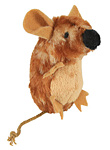 Plüsch Maus mit Stimme