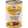 Landfleisch Geflügel Reis extra mager 12 x 400 g